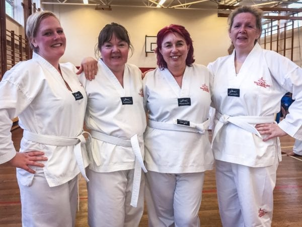taekwondo classes courses training beginners wirral west kirby jason rodd school